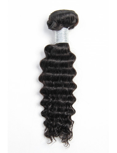 "Mèches malaisiennes kinky curly 14""."