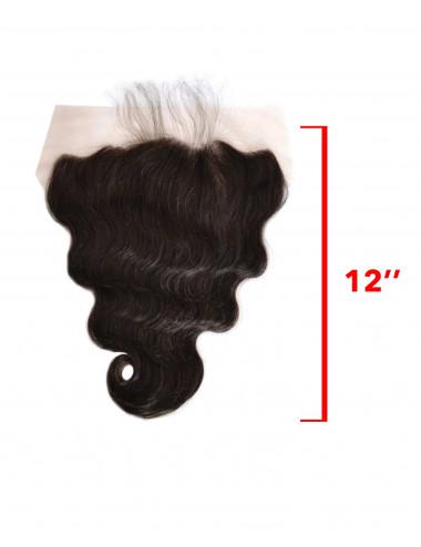 """Mèches péruviennes lace frontal ondulé 14"""""""