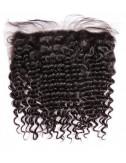 """Mèches brésiliennes lace frontal deep curly 18"""""""
