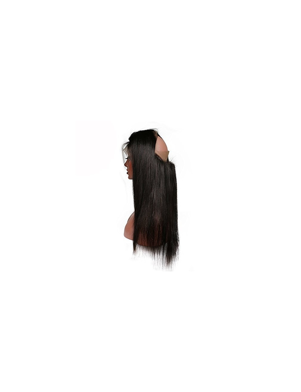 """Lace 360° lisse indien 12"""""""