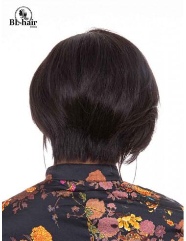 Perruque lisse 10 pouces Lace frontal