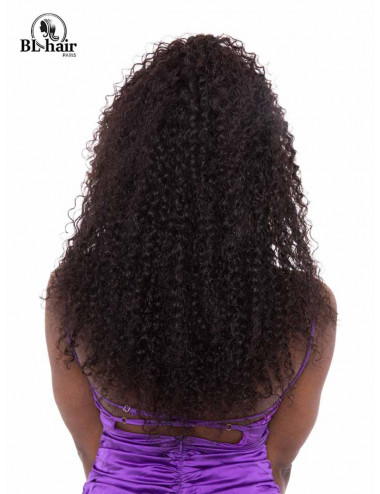 Perruque Kincky Curly 24 pouces Lace frontal