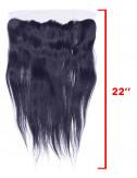 """Mèches brésiliennes lace frontal lisse 22"""""""