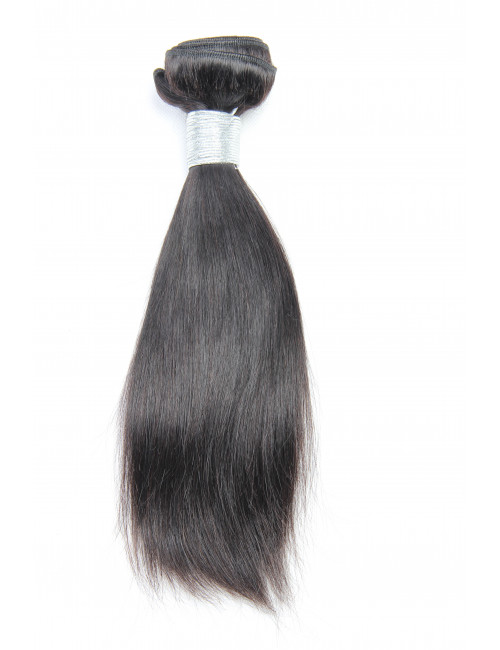 Mèches malaisiennes tissage lisse 12""