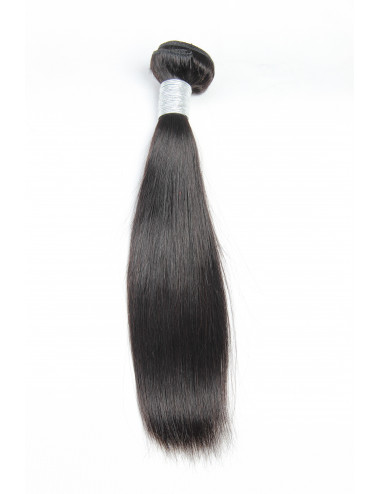 Mèches malaisiennes tissage lisse 18""