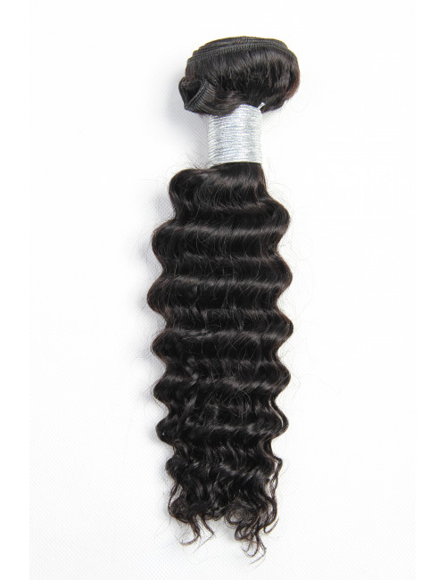 "Mèches indiennes  kinky curly 10""."